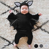 Clothing Sets 3 Pcs Infant Baby Boys Cosplay Costume Autumn Long Sleeve Solid Born Kids Girls Halloween Romper Pants Hat Outfits Set 2021