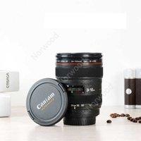 Lente de cámara taza de café len creativo agua leche jugo de jugo diseñador casero café taza drinkware dhn11