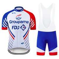 2021 Gruplama FDJ Bisiklet Takımı Giyim Bisiklet Formaları Bisiklet Şort Setleri Ropa Ciclismo Erkek Hızlı Kuru Pro Bisiklet Maillot Pantolon