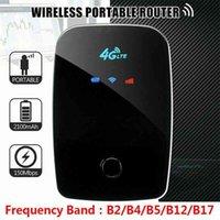 Unlocked 3G 4G Router Mini 150Mbps Stick Modem 4g Mifi Mim Mard Mobile Portable Sim Wifi spot Broadband Car Usb Dongle 210607