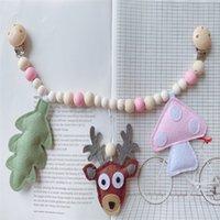 Kangobaby #my мягкая жизнь # милая детская пваница игрушка лотос дерева leather с муслиным пеленажным одеялом ребенка браслет Y201009 108 Z2