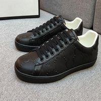 40% İndirim Klasik Moda Casual Ayakkabı Erkekler Için İtalya Kadınlar ACE Marka Sneaker Yüksek Kaliteli Deri Yaz Dropship Fabrika Online Satış Artı Boyutu 48