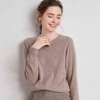 Women's Trousers Seeks Quality Pure Merino Wool Reef Winter Women Clothing Casual Loose Jumper O-neck Long Mouths