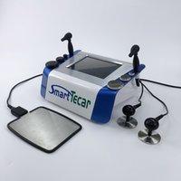 Portable 2 en 1 Smart Tecar Thérapie Tache chauffante Douleur électrique Relief de soulagement du muscle Récupération musculaire CET RF Machine de physiothérapie