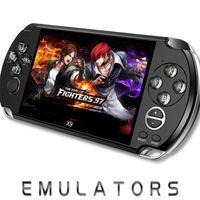 Jeu vidéo Console X9 Handheld Game Player pour PSP RETRO Game 5.0 pouces Support d'écran Support TV avec caméras MP3 Caméra Multimedia 1PCS