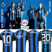 2021 2022 Club Brugge KV Jerseys de fútbol 21/22 Inicio V.Badji 27 Mata 77 Kossounou 5 Vaken 20 de Ketelaere 90 Lang 10 Jersey Camisetas de fútbol