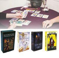 Grande venda! 15 estilos tarots bruxa cavaleiro festa festa smith waite shadowscapes cartões de jogo de barra de tarô selvagem com caixa colorida versão inglesa