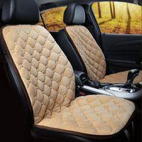 مقعد السيارة يغطي أجزاء سخان وسادة الداخلية دفئا الشتاء غطاء وسادة سادة السيارات RV