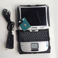 3in1 ماسحة السيارات لسيارات BMW ICOM المقبل و MB SD C6 ستار تشخيص الاتصال 6 و 6154 ODIS مع HDD 2TB في الكمبيوتر المحمول CF19 جاهز للعمل