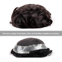 TKWIG شركة 100٪ شعر الإنسان الكامل الدانتيل السويسري الرجال شعر مستعار شعر مستعار للرجال عينة مجانية
