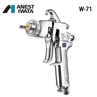 Professional Spray Guns Iwata W-71 Gun Manual Paint Furniture Atomized Finish For Painting Cars W71 Sprayer Cup