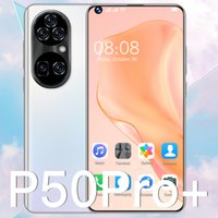Global Version P50PROMAX Cell phone 7.3 Inch 6800mAh Octa Core Quad 12GB+512GB Rear Camera Android 11.0 Mobile 5G 4G LTE Smartphone