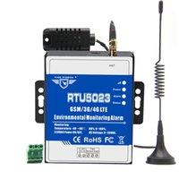 King Pigeon RTU5023 GSM 3G 4G RTU الرطوبة الرطوبة إنذار AC / DC Power Lost Alert Remote Monitor Support Timer Report Systems