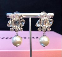 jewelry S925 sterling silver earrings shaped freshwater pearl Stud charm stud earrings for women hot fashion Christmas Gift