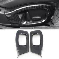 Réglage de l'auto Réglage de la mémoire Bouton de mémoire Panneau de décoration Cadre Cadre Cover Cover Sticker Accessoires d'intérieur pour Jaguar Xe X760 2015-2019