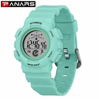 Relógios de pulso Panários Digital Sport Watch Bracelet para Mulheres Moda Causal Estilo Impermeável Relógios Despertador Running