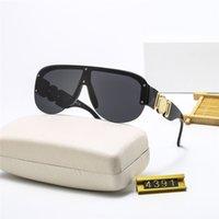 Sonnenbrille Benutzerdefinierte Hohe Qualität Mode Große Rahmen Retro Brille-Design Für Männer Frauen Großhandel und Dropshipping Color-6 Yun.ux