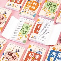 Yoofun 80 blatt tasche wort buch nette kawaii sprachen lernen memo notebook spirale spiral tragbare notiziendepads für büro schule