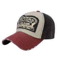 MS Patch do القديم Snapback قبعة بيسبول قبعة من السيارات في الهواء الطلق السفر الربيع والصيف يتم منع تشمس في شمس بطة اللسان الرجل 2021