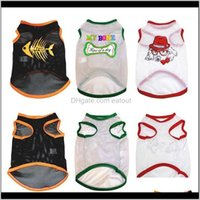 Apparel Supplies Home & Gardencute Cartoon Pet Clothing Dog Cooling Mesh Vest Soft Puppy Dogs Clothes Summer Shirt Casual Vests For Puppy1 D
