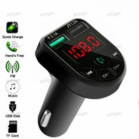 CARE3 CARE5 Multifunction Bluetooth car charger kit Transmitter 3.1A 1A Dual USB Cars FM MP3 Player support TF card Handsfree