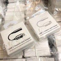 OEM Type-C до 3,5 мм кабельные адаптеры для наушников USB-C мужчина 3.5 AUX аудио женское разъем для Samsung Note 10 20 Plus с упаковкой