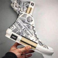 19SS Air Dior Converse Oblique Paris Baskets Sneakers Kim Jones KAWS Triple S Kim Jones Kanye Hommes Femme Chaussures Women Men Casual Shoes 3193
