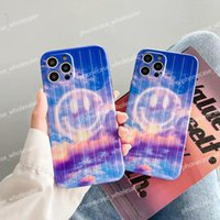 Fashion Suitcase smile designer phone cases for iphone 12 Pro Max case 11 XR XSMax 7 8 plus 6 Soft TPU Protective Shockproof Anti-skid shell 0718