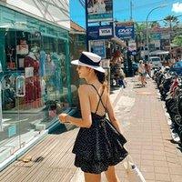 Sombrero De Paja Plano Blanco Para Turismo, Tapa Inglaterra, Natsushio, Sombrero Sol Playa, Viajes en Mar J0511