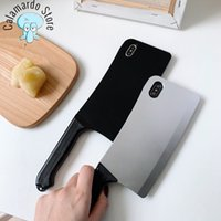 Phone case new arrival kitchen knife mobile phone case for Iphone 11 7 6 8 phone shell for Iphone