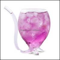 Drinkware Kitchen, Dining Bar Home & Gardencreative Devil Cocktail Glass Cup With St 300Ml Wine Glasses Beer Whiskey Juice Mug Crystal Drop