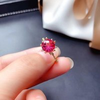 Cluster Rings MeiBaPJ Natural Fireworks Pink Topaz Gemstone Trendy Sunflower Ring For Women Real 925 Sterling Silver Charm Fine Jewelry