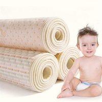 Algodão de algodão orgânico impermeável eva camada de eva bebê mudança de esteira bebê impermeável mudança de urina almofada de urina lençóis 210426