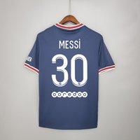 Messi Adult Children Pair Football Home Jerseys Boys, Chicas Fútbol Ropa de fútbol Uniformes de manga corta Jersey Jersey, con logo