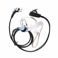 10x Covert Acoustique Sécurité Écouteur Casque Mic PTT Pour Motorola Deux Voies Talkie Walkie 2 Broches GP88 GP300 CP200 PR400 SP50 CP88 CP040