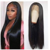 Lace Wigs Long Straight Front Human Hair For Women 13X4 Frontal Wig Brazilian Closure 4X4 B4U