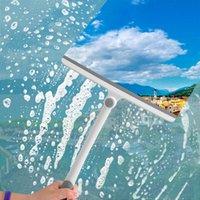 Стиральная кисточка стеклянный стеклянный стеклоочиститель 360 градусов вращающийся мыльчик очиститель Squeegee душевая ванная комната зеркало для ванной комнаты напольные автомобильные щетки WY1340