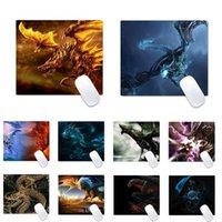 Pads de souris Poigne Reposs-poignets 3D Dragon Caoutchouc PC Computer Gaming Mousepad Bureau Table de bureau Protégez le jeu de bureau Tapis de travail Tapis de travail anti-slip coussin