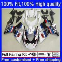 Fairings de injeção para Suzuki K9 GSXR 1000 CC 1000CC 09-16 28No.9 GSX-R1000 GSXR1000 09 10 11 12 13 14 15 GSXR-1000 2009 2011 2012 2015 2015 2015 2015 Body White Black Hot Oem