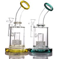 Hookahs Dab rig birdcage perc water pipe thick glass bong smoking pipes with 14 mm joint