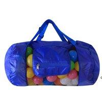 30 * 58cm Bolsos de juguete para niños Playa de arena Pouch Toy Storage Shells Pouch Tool Bag Organizer Shell Recibir bolsas de almacenamiento HWWE6912