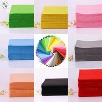 30 цветов для выбора из полиэстера Feam Fabric 30x30см для рукоделия DIY шить ручной работы 1 мм Думаю почувствовать Feltro Nonwofle CoLth 10 шт.
