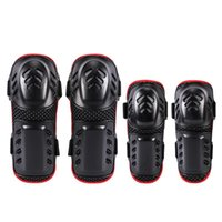 Elbow & Knee Pads 4pcs Sleeve Pad Breathable Adjustable EVA PE Shell Arm Leg Protective Guard Protector Outdoor Cycling Roller Skating