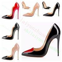 Nowy ekstremalny czerwony dolny wysoko dla kobiety 8 10 12 cm buty party cienkie obcasy wsuwane panie buty plus rozmiar żółty niebieski fioletowy kustosz # 9025