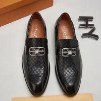 Mens formale Luxuskleid Oxfords Schuh Elegante Lace-Up Runde Zehe Business Office Brogue Lederschuhe Designer Männer Komfort Klassische Hochzeit Bräutigam