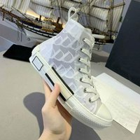 Marka B22 B23 Klasik Rahat Ayakkabılar Kadın Erkek Tuval Baskılı Sneakers Nakış Alfabe Eğitmenler Tasarımcılar Sneaker Tüm Maç Stilist Ayakkabı