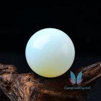 Bela Opala Sephere Crystal Crystal Curing Ball Meditation Decor