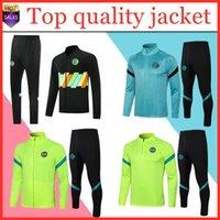 2021 LAUTARO Fussball Trikots Fußball Trainingsanzug Jacken Kits 21 22 Surveetement Alexis Milan Lukaku Training Anzug Jacke Set