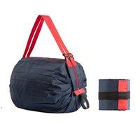 Складные сумки для хранения большие экологически чистые многоразовые портативные плечевые сумочки водонепроницаемые туристические сумки DWE9246