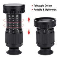 Lens Adapters & Mounts Aluminum + 4 Multilayer Coating Optical VELEDGE VD-11X Director Viewfinder TV 35MM 16MM Eyepiece Lock Ring 37